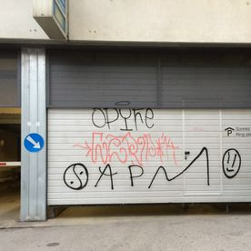 Traitement des graffitis - Antigraffiti - Renens